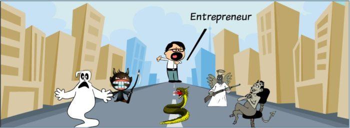 Entrepreneur hiccups