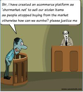 Jokes, comics, business and startup humor
