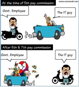 government job vs it job