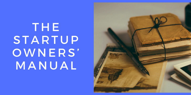 Startup owners' manual